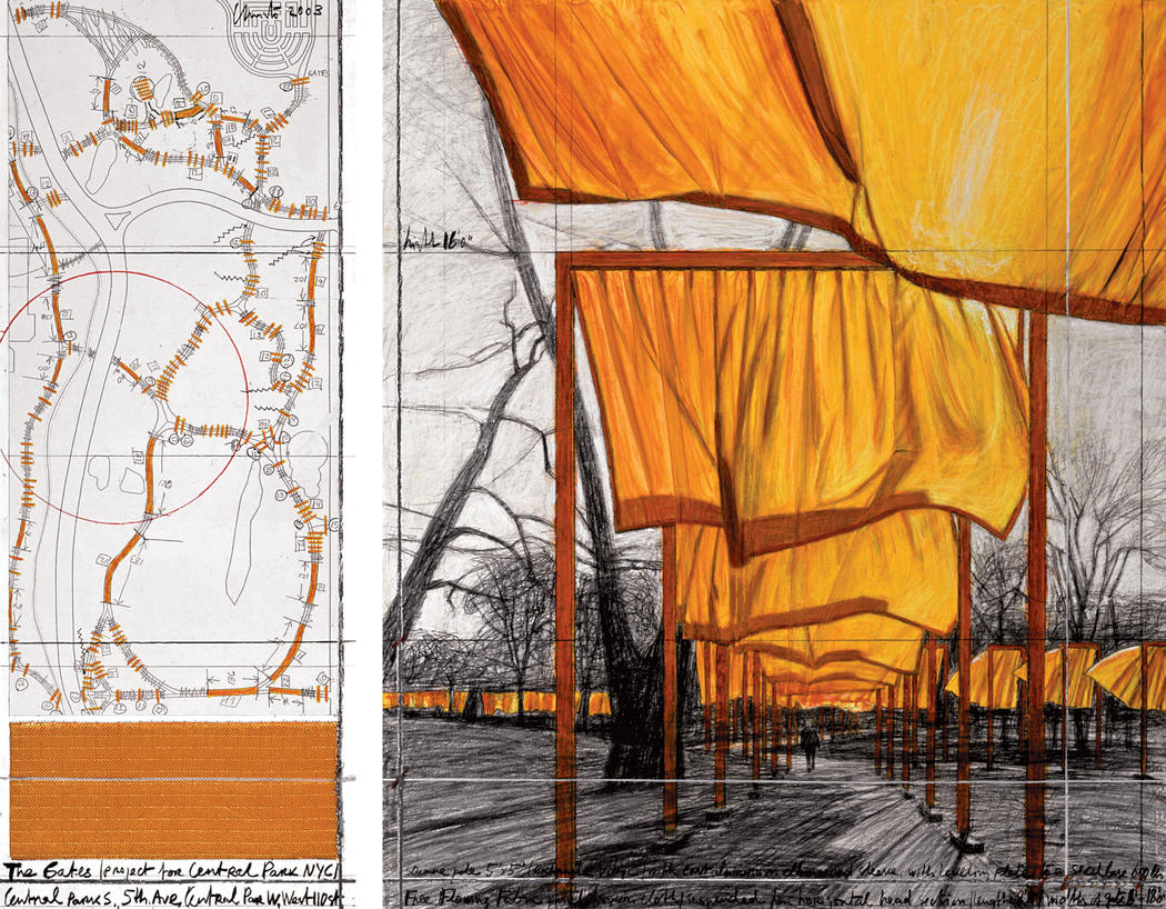 christo the gates eMail
